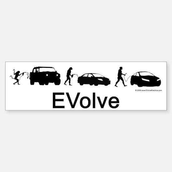 EVolve Bumper Car Car Sticker