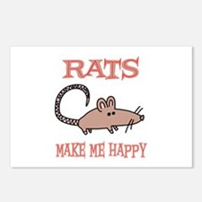 Rats Postcards (Package of 8)
