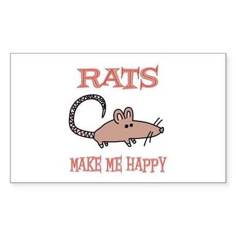 Rats Rectangle Sticker