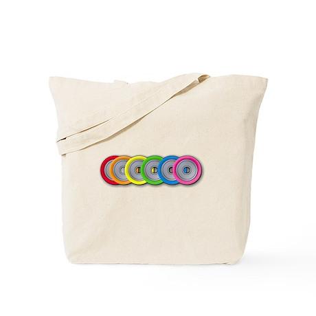 Wheel Rainbow Tote Bag