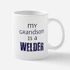 My Grandson is a Welder Mug