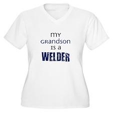 My Grandson is a Welder T-Shirt