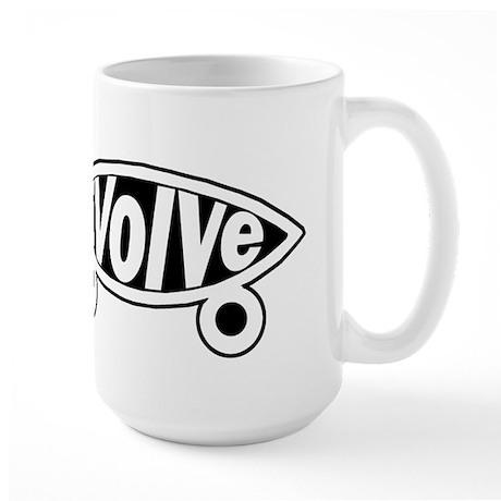 EVolve Fish Mug
