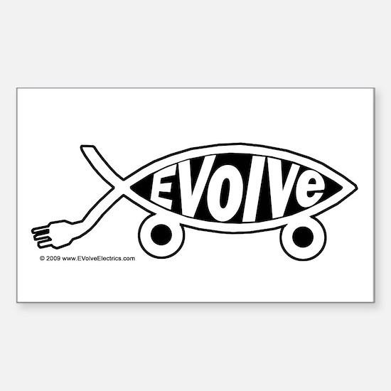 EVolve Fish Decal