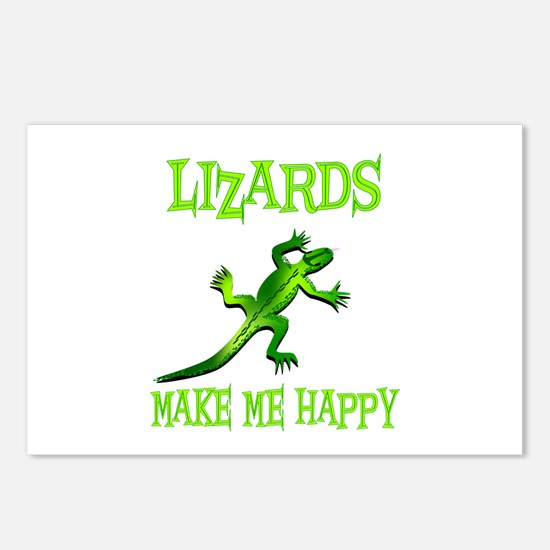 Lizards Postcards (Package of 8)