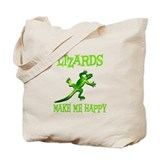 Lizards Canvas Bags