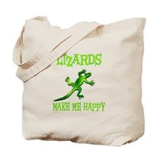 Lizards Tote Bag