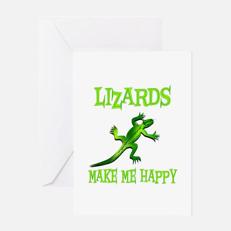 Lizards Greeting Card