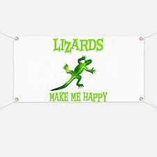 Lizards Banner