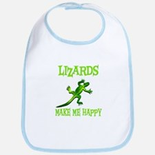 Lizards Bib