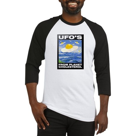 UFO'S from Planet Cholesterol Baseball Jersey