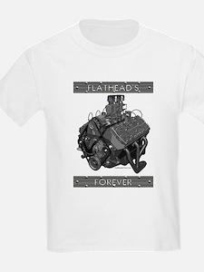 Flatheads Forever!-Grey T-Shirt