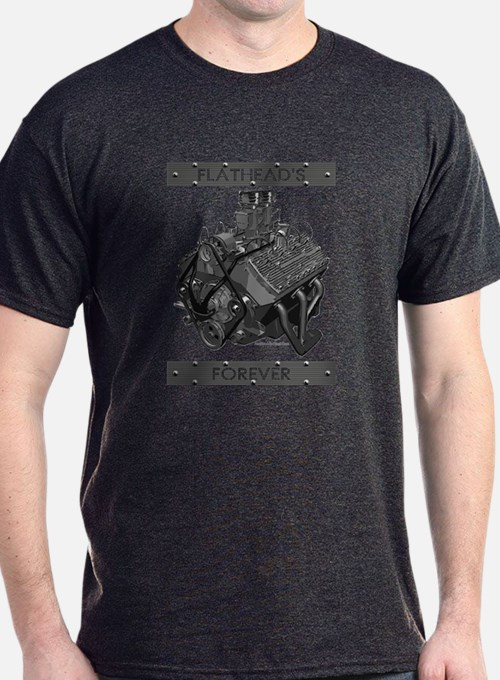 Flatheads Forever!-Grey T-Shirt