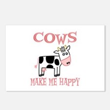 Cows Postcards (Package of 8)