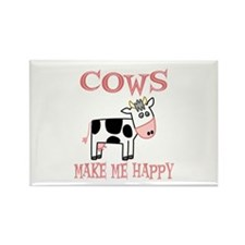Cows Rectangle Magnet (10 pack)