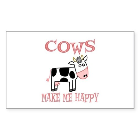 Cows Rectangle Sticker