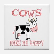Cows Tile Coaster