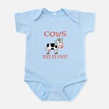 Cows Infant Bodysuit