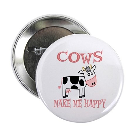 """Cows 2.25"""" Button (100 pack)"""