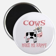 """Cows 2.25"""" Magnet (10 pack)"""