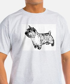Norwich Terrier Ash Grey T-Shirt