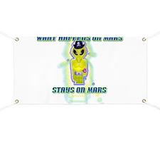 Albert Alien What happen Mars Banner
