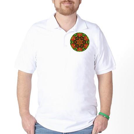 Flame Azalea Golf Shirt