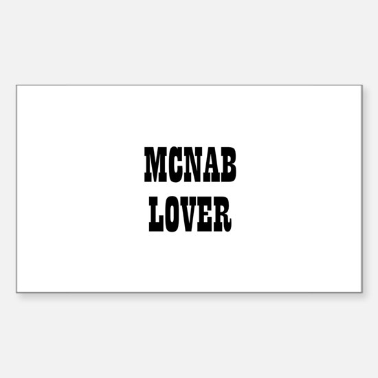 MCNAB LOVER Rectangle Decal