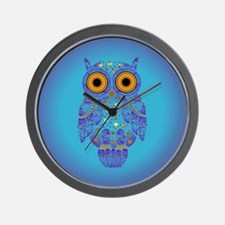 H00t Owl Wall Clock