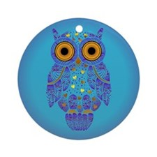 H00t Owl Ornament (Round)