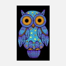 H00t Owl Rectangle Decal