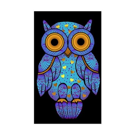 H00t Owl Rectangle Sticker