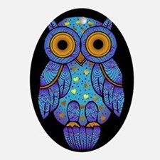 H00t Owl Oval Ornament