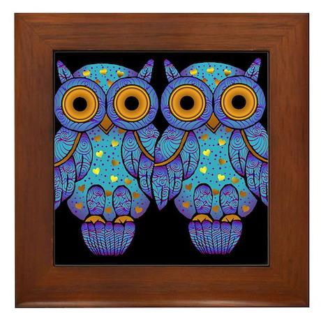 H00t Owl Framed Tile