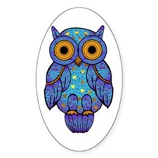 H00t Owl Oval Decal
