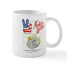 Peace Love & BB Dish Mug