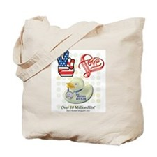 Peace Love & BB Dish Tote Bag