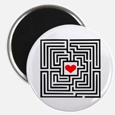 "Labyrinth - Heart 2.25"" Magnet (10 pack)"