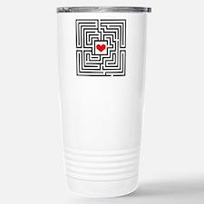 Labyrinth - Heart Stainless Steel Travel Mug