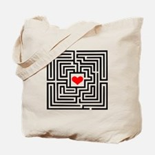 Labyrinth - Heart Tote Bag