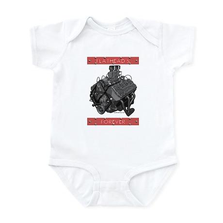 Flatheads Forever!-Red Infant Bodysuit
