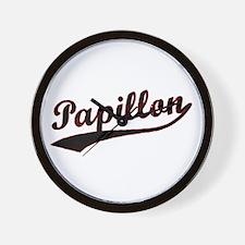 Papillon Varsity Wall Clock