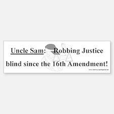 Robbing Justice (sticker)