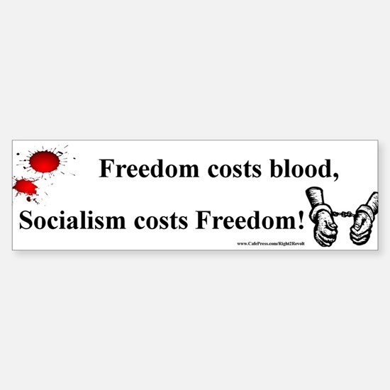 Blood or Freedom (sticker)