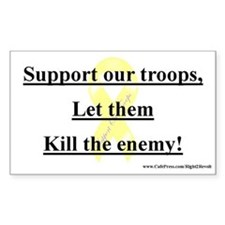 Support our Troops (sticker)