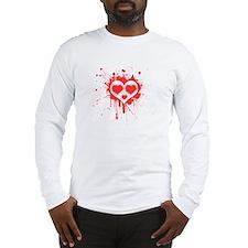 Heart Face Long Sleeve T-Shirt