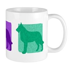 Color Row Laekenois Mug