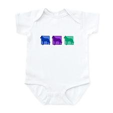 Color Row Laekenois Infant Bodysuit