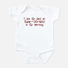 Two-stroke in the Morning Infant Bodysuit