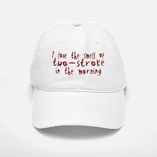 Two-stroke in the Morning Baseball Baseball Cap